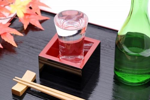日本酒と1合瓶